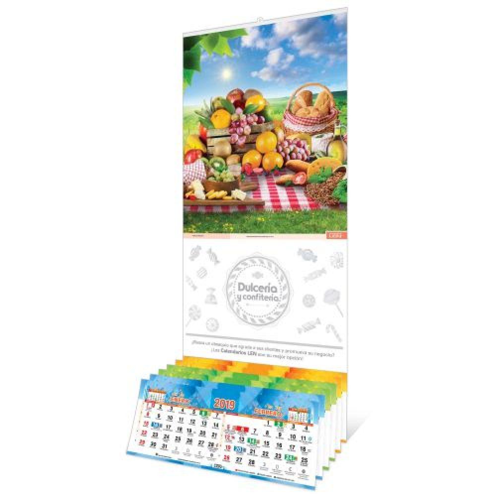Calendario Santoral 2019.Calendario De Pared Con Varilla Mediano Y Santoral De 6 Hojas 31 X