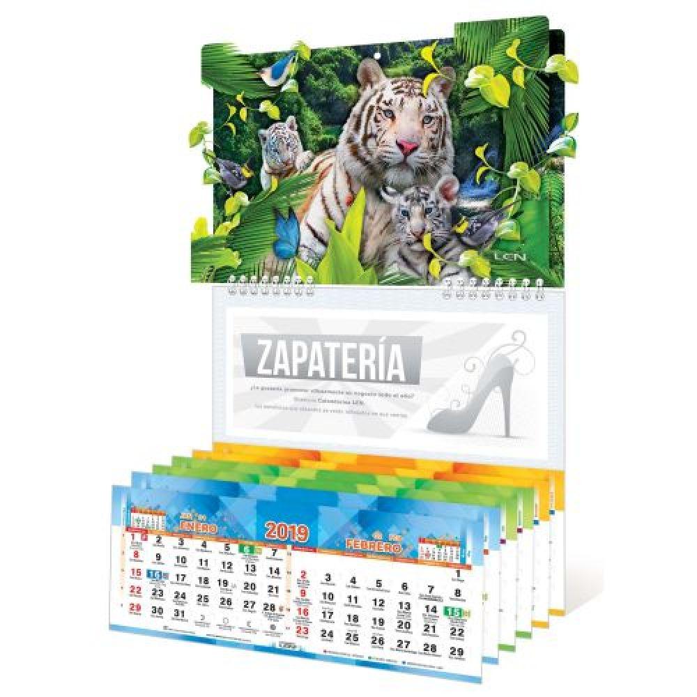 Calendario Santoral.Calendario De Pared Con Efectos Especiales Y Santoral De 6