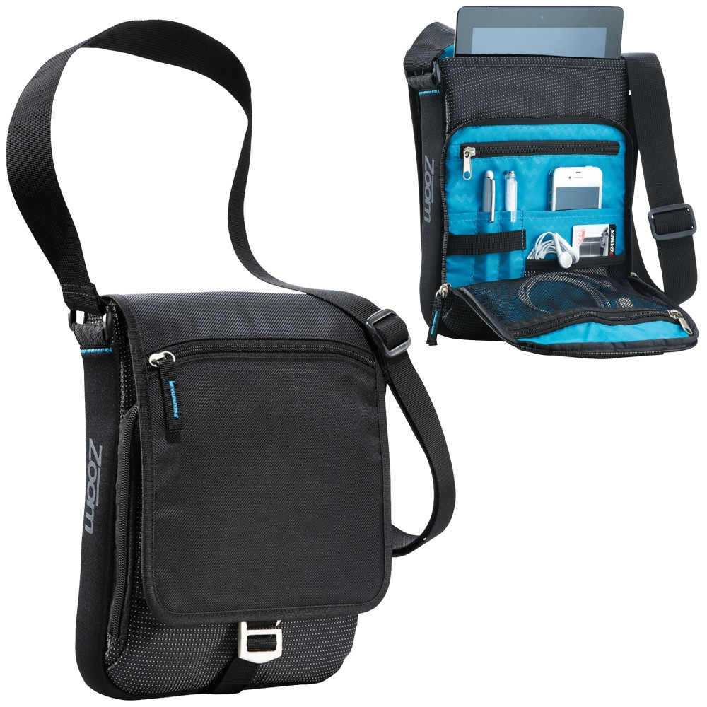 PORTA TABLET MEDIA ZOOM    MESSENGER NEG imagen